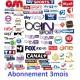 Abonnement IPTV 3 mois compatible PC - Android - MAG - IOS - Enigma 2
